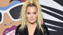 Khloé Kardashian Slays in Sexy See-Through Glitter Getup Post Breakup -- See the Racy Pics!