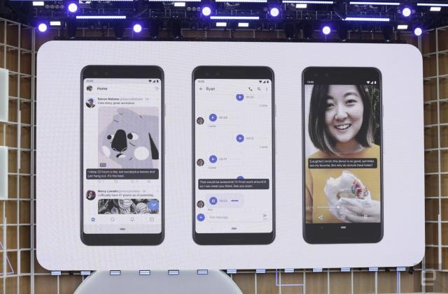 Android Q will feature dark mode, live video captioning and lots more