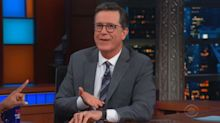 Stephen Colbert's iWatch hilariously derails interview with Mindy Kaling