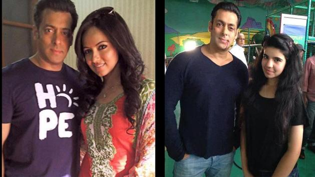 Salman from the sets of Mental