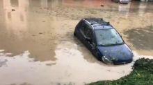 Allagamenti nel quartiere di Parona e acqua alta al pronto soccorso dell'ospedale di Bussolengo