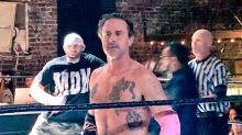 David Arquette, la estrella estrellada de 'Scream', casi se mata desangrado en una pelea de lucha libre