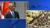 Obama Addresses Violent Clashes in Baltimore