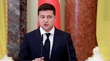 Covid-19: en Ukraine, le président Volodimir Zelenski hospitalisé