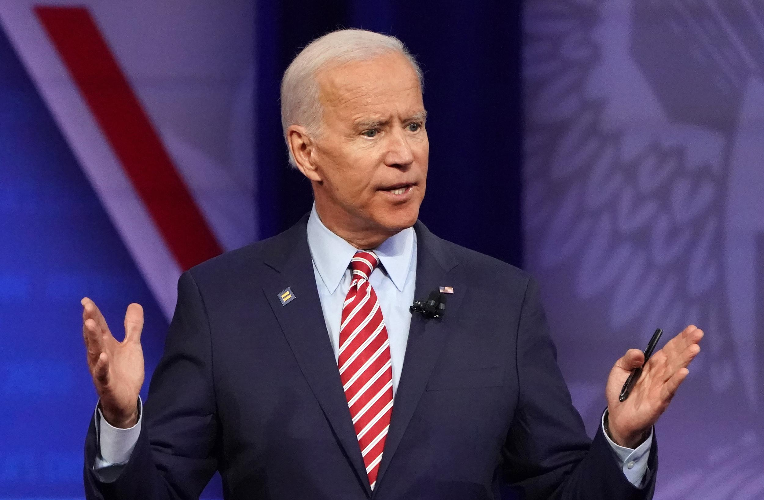 Biden to gay advocates: 'You deserve a partner in the White House'