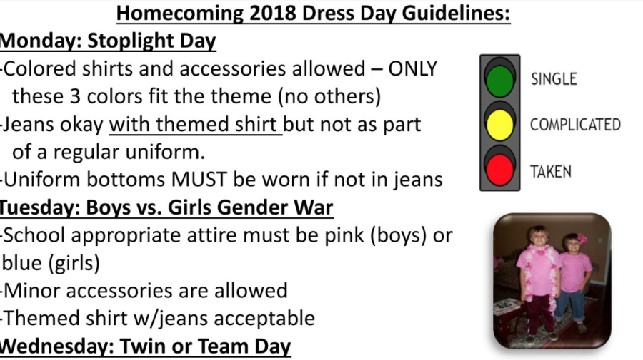 Dad calls theme day asking middle school students to dress based on relationship status 'inappropriate'