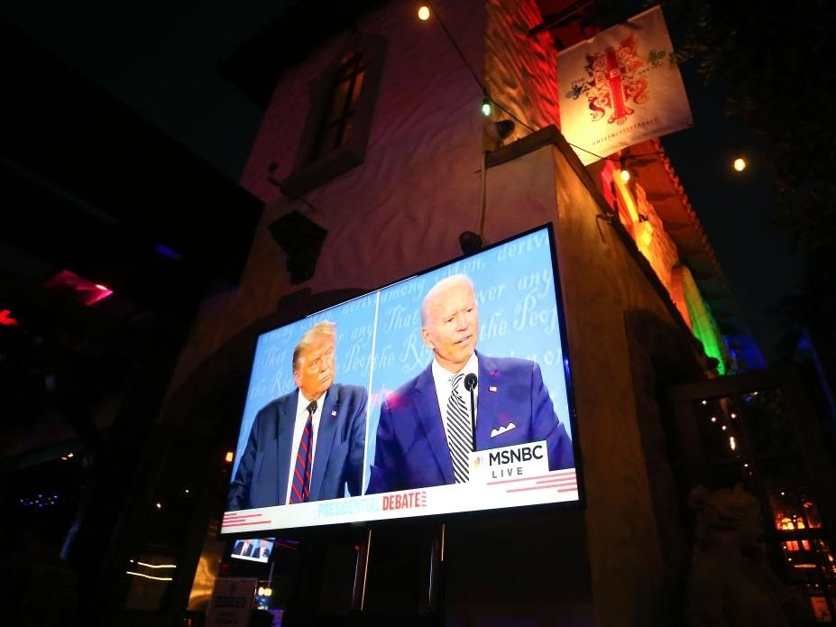 Presidential candidates Donald Trump and Joe Biden will participate in dueling town halls on Thursday in lieu of a presidential debate. Watch live on Patch.