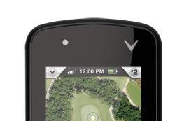 Callaway upro mx+ will show you a real view of the golf course, won't give you a mulligan