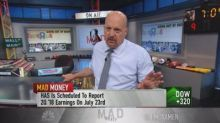 Cramer advises using Toys R Us pain to 'scale into Hasbro...