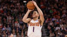 NBA/布克干拔40呎大號三分彈