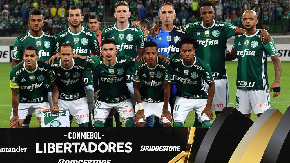 Copa Libertadores 2017: las estadísticas de Palmeiras