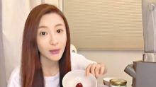 林夏薇施髮術研製養生汁