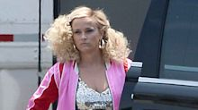 Reese Witherspoon Gives Off Legally Blonde Vibes in All-Pink Outfit from Big Little Lies Set