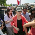 Democrats in Miami for debate journey to child migrant camp