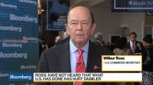 Sec. Ross on Trade, Economic Growth, ZTE, Short Selling