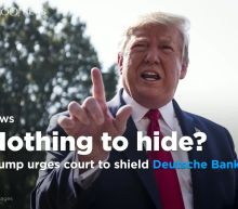 Trump urges court to shield Deutsche Bank records from House Democrats
