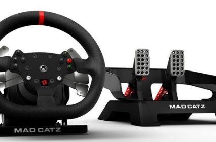 Mad Catz announces 'Force Feedback Racing Wheel' for Xbox One