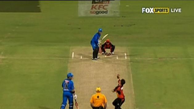Strikers down Scorchers