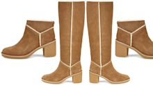 The new Ugg boots are here and they have heels