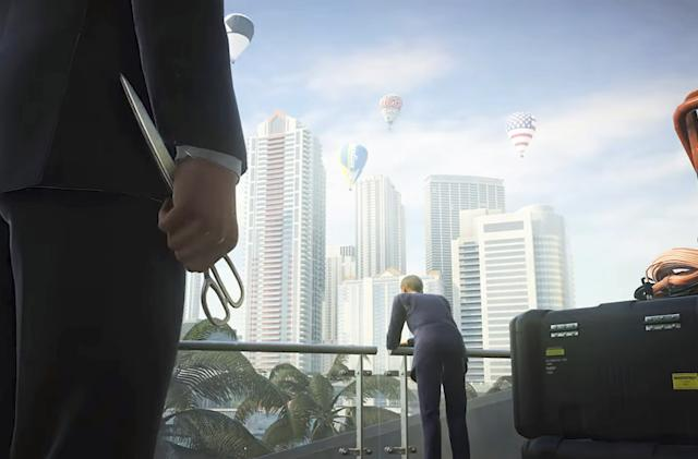 'Hitman 2' Miami trailer shows murder with scissors and fish