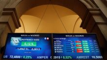 La Bolsa española cae el 0,80 % a mediodía y pierde los 9.300 puntos