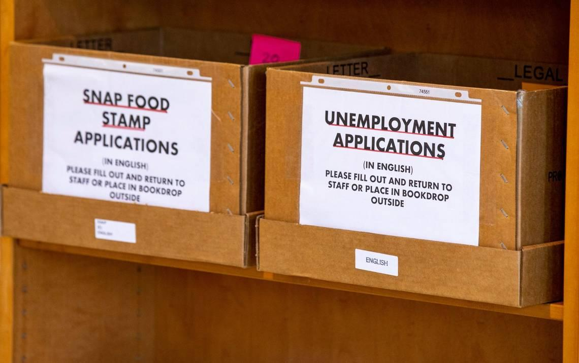 New unemployment applications in Florida decline for first time in weeks as layoffs ebb