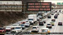 Crews Race To Make Repairs To Ft. Pitt Tunnel Ahead Of Busy Weekend