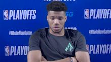 Giannis Antetokounmpo on Wednesday's walkout: 'I can't leave my teammate behind'