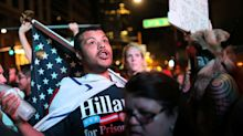 Trump rally in Phoenix draws protesters from both sides