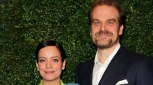 Lily Allen confirms she married David Harbour in a Las Vegas ceremony