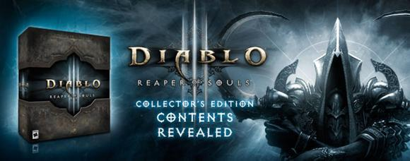 Diablo III: Reaper of Souls Collector's Edition content revealed