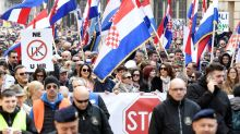 Thousands of Croatians protest treaty to protect women