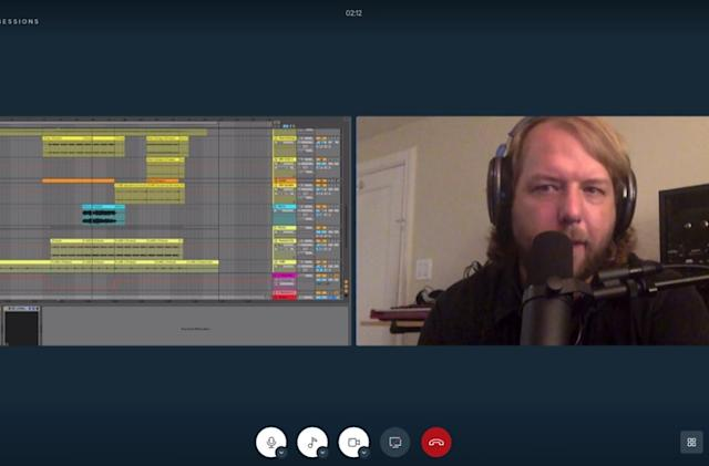 LANDR Sessions is a video chat app and streaming plugin for your DAW