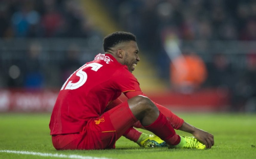 It's been another injury-hit season for Daniel Sturridge - Copyright (c) 2017 Rex Features. No use without permission.