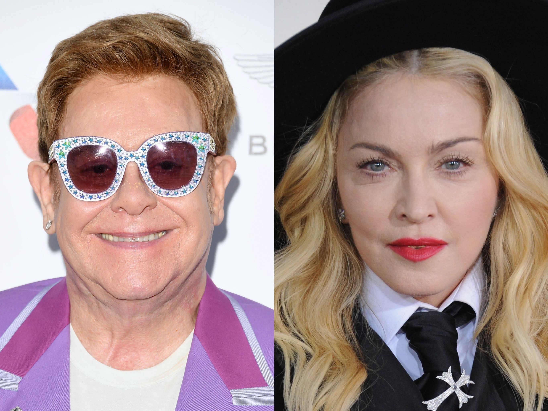 Elton John Slams Madonna For Being Nasty To Lady Gaga