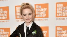 10-year-old McKenna Grace rules the red carpet in chic black suit