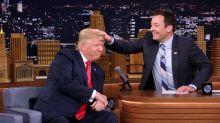 Fallon Musses Trump Hair, Media Goes Wild