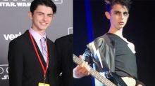 Michael Douglas and CZJ's Son Dylan (Glam) Rocks Out