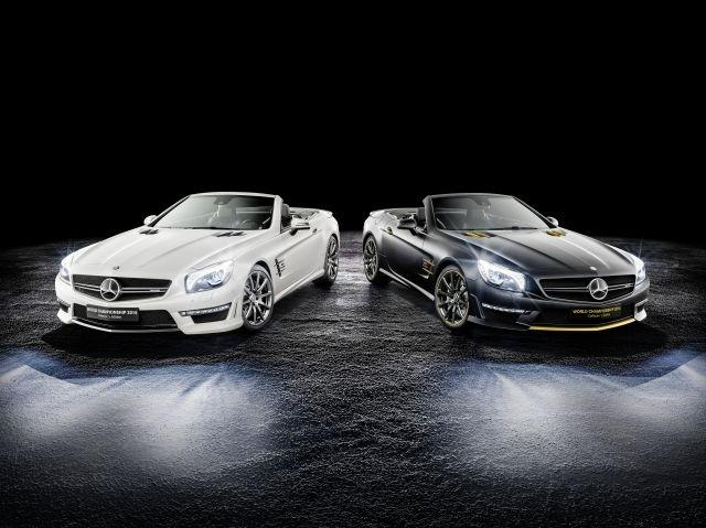 Mercedes announces special Formula One edition SL 63