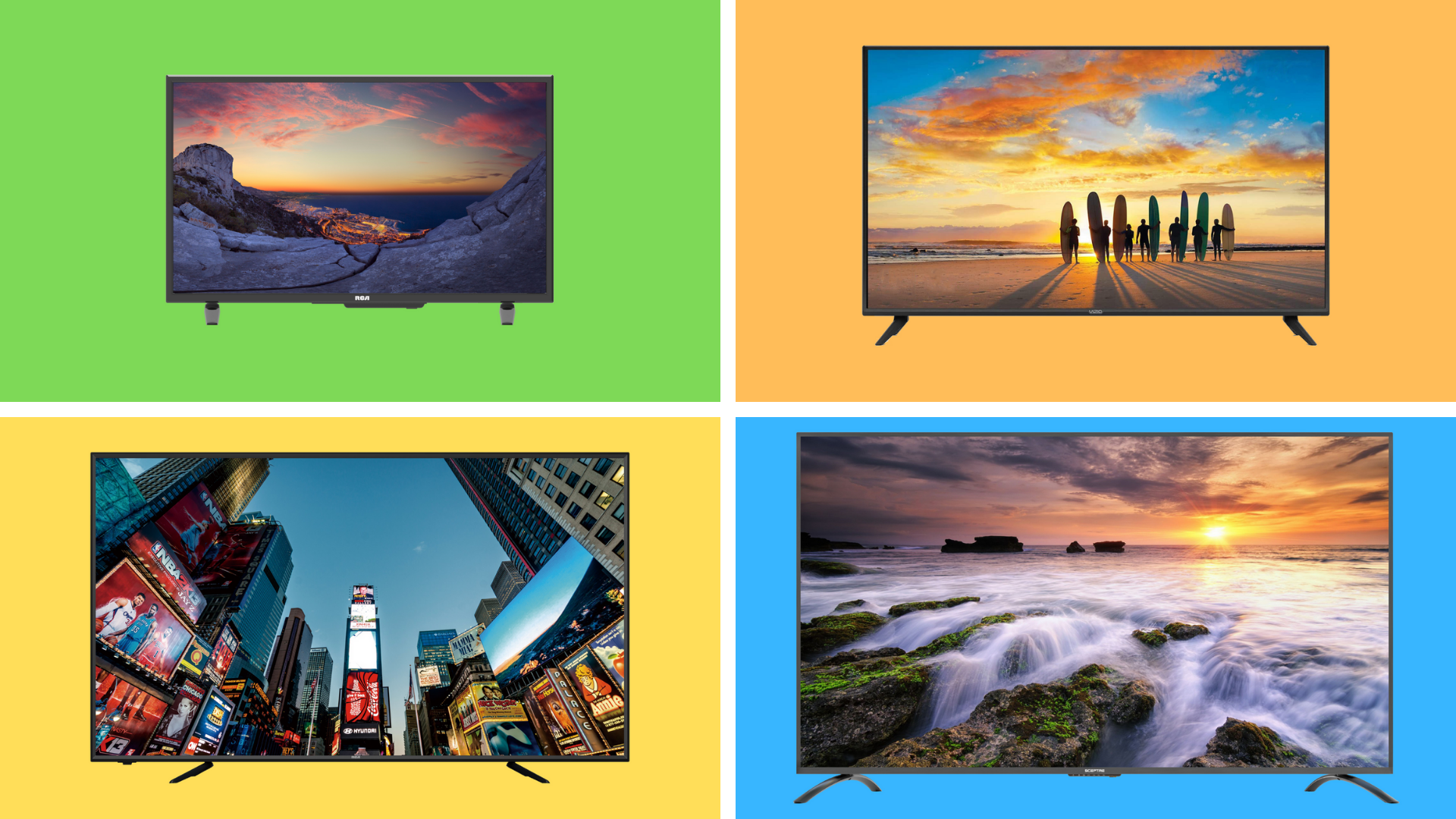 Walmart's 4K TV deals are so ridiculous, they seem like a mistake—prices start at just $85! - Yahoo Entertainment
