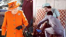 注意英女王手袋的方向,她在打暗號!英國皇室13個穿搭潛規則