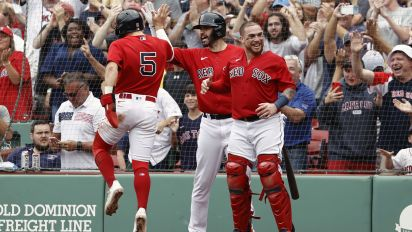 Red Sox stomp Yankees as impressive run continues