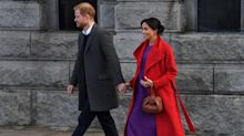 Meghan Markle 'reveals baby's due date' during Merseyside visit