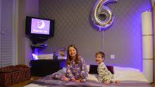 Family recreates Premier Inn at home to celebrate son's sixth birthday