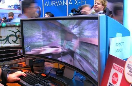 More details about Alienware's awesome curved DLP display