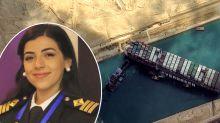 Egypt's first female captain at centre of hideous Suez allegation