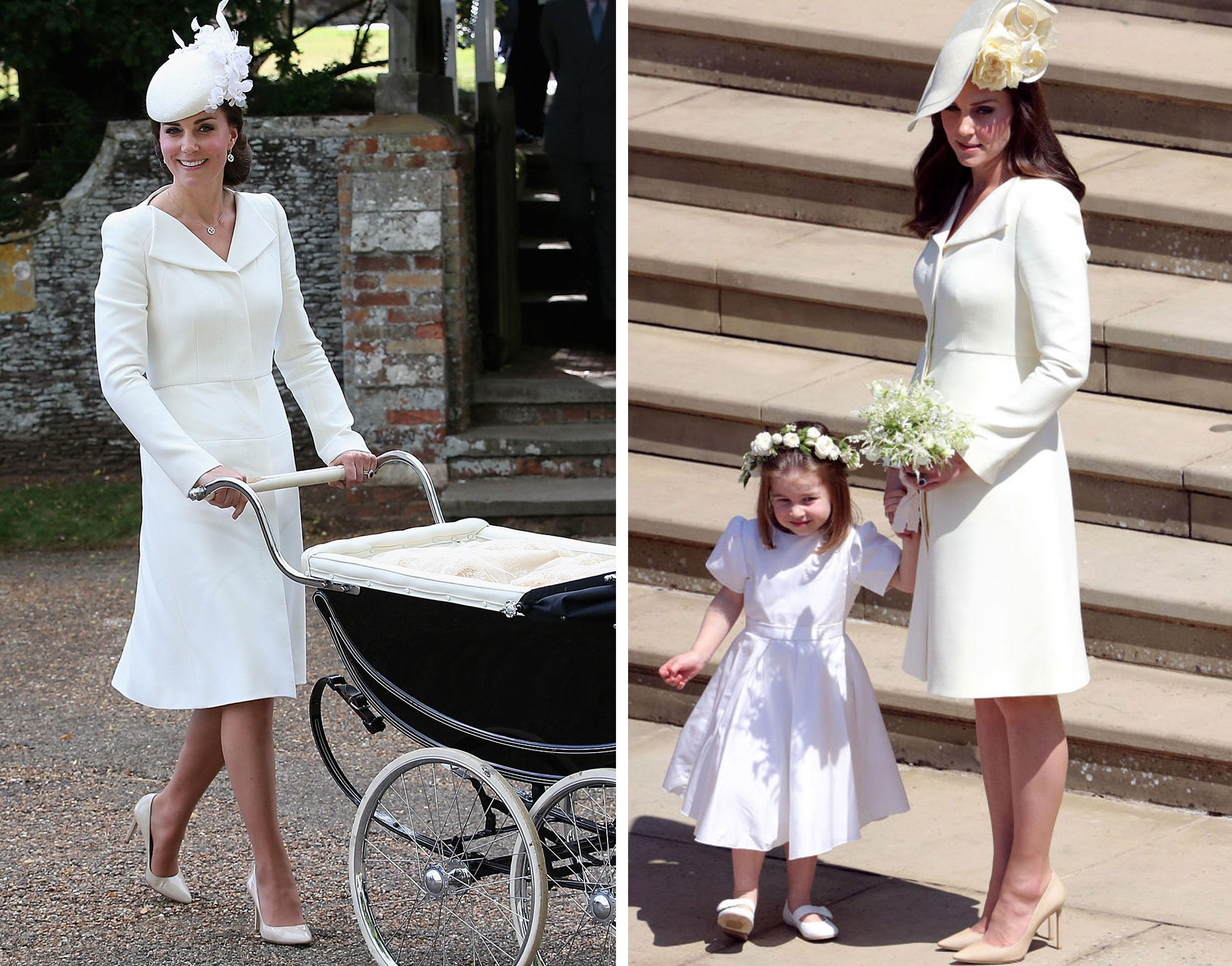 Herzogin Kate trug bei Prinz Harrys Hochzeit doch kein Wand
