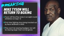 Mike Tyson will return to boxing