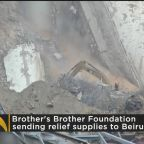 Brother's Brother Foundation Sending Relief Supplies To Beirut