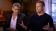 Damon, Clooney say they never saw Weinstein's 'darkness,' vow to fight sexual misconduct